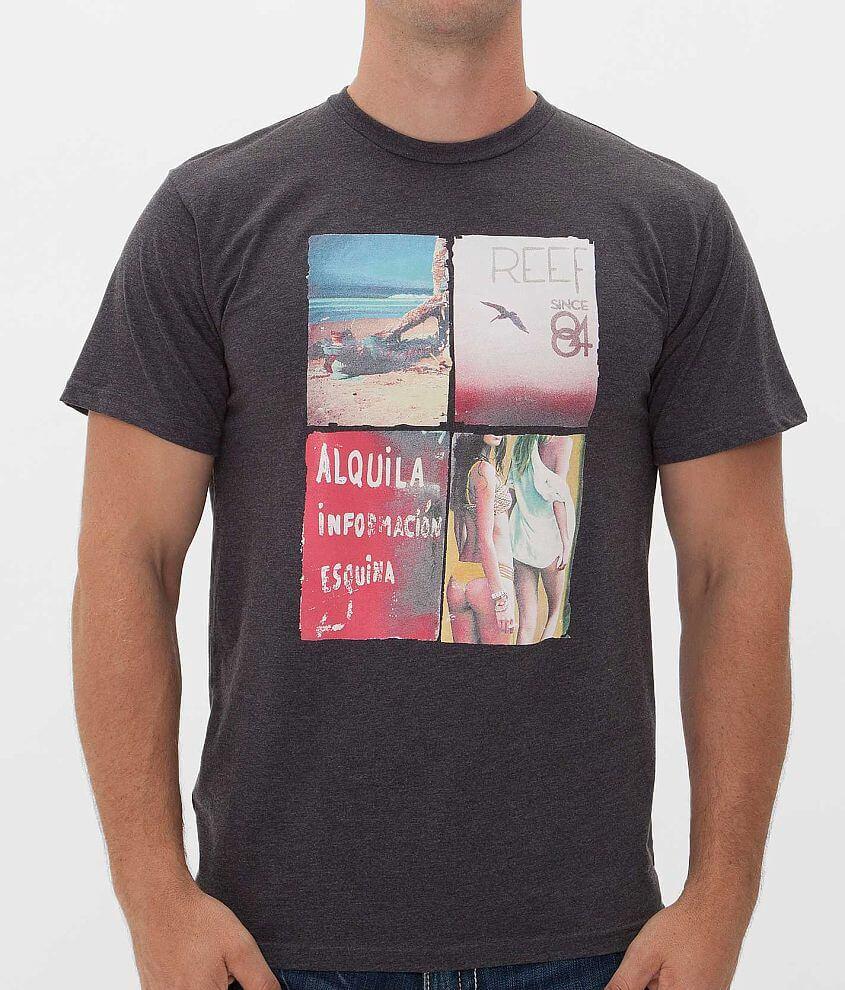 Reef Quat Yo T-Shirt front view