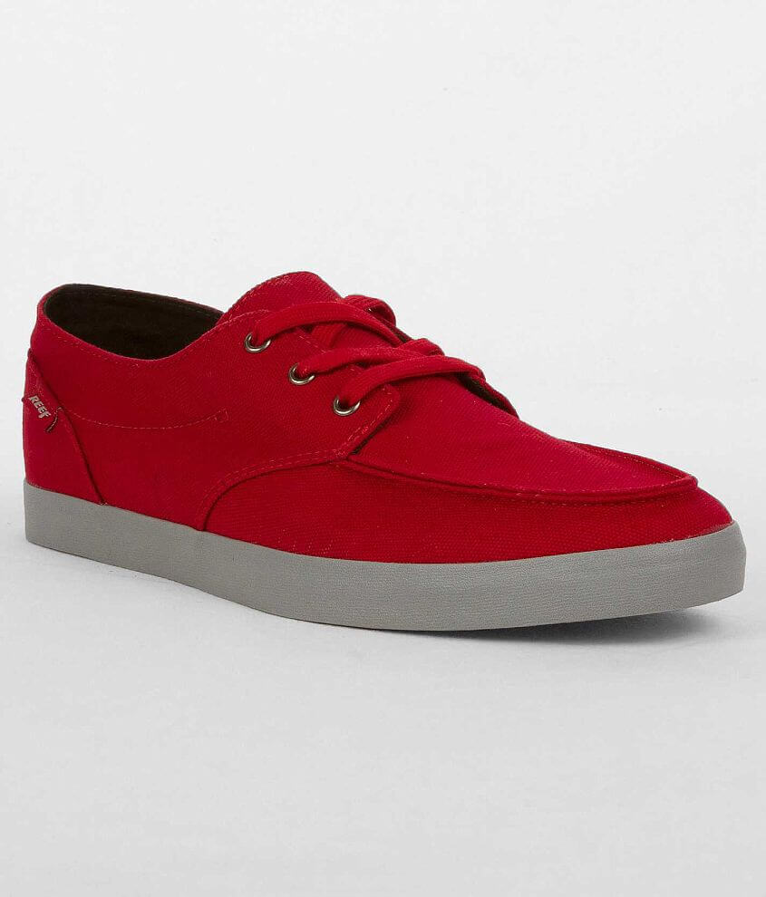 d51c1d06d24e2 Reef Deck Hand 2 Shoe - Men's Shoes in Black Red   Buckle