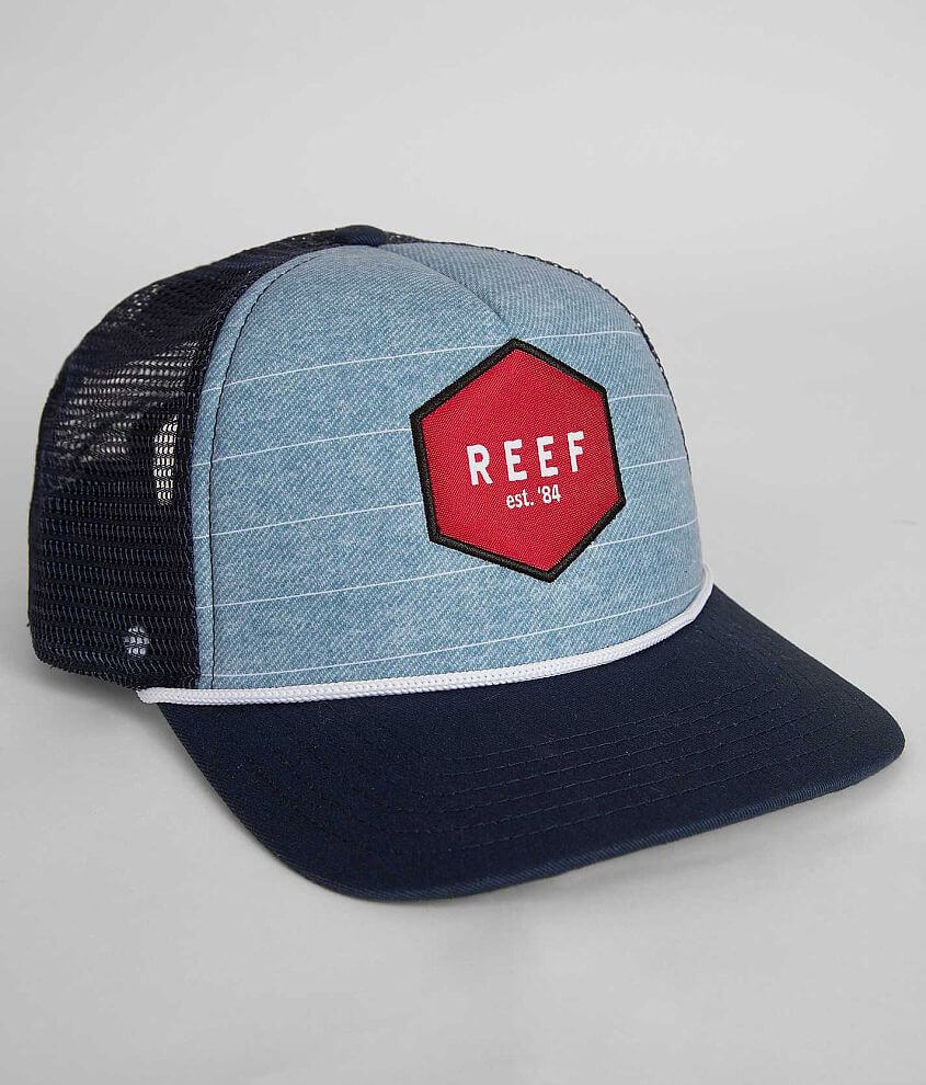 Reef South County Trucker Hat front view
