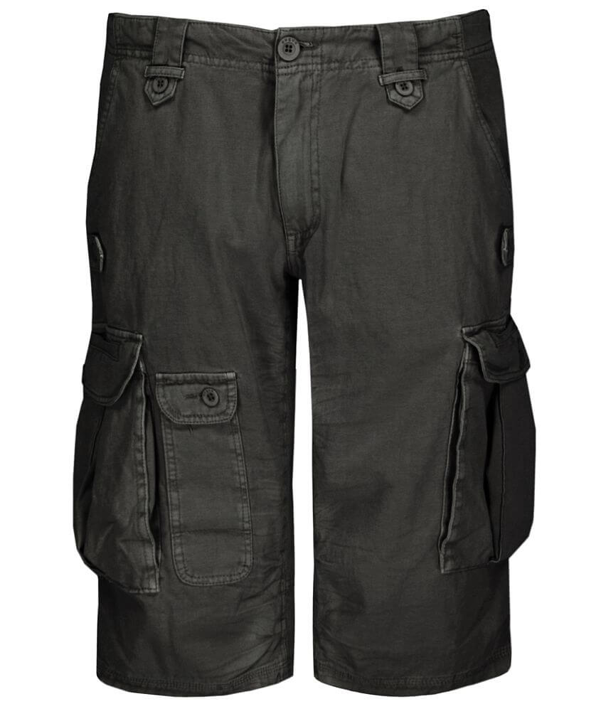 Rogue State Garment Washed Cargo Short front view