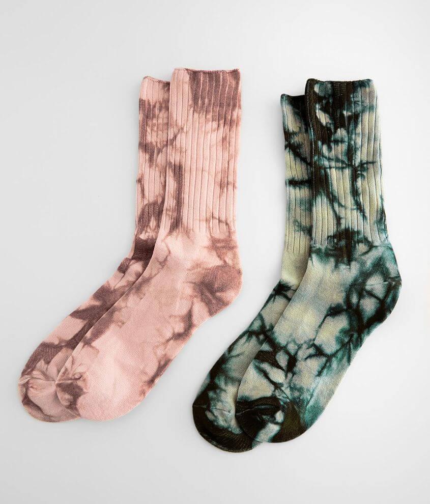 Knit crew socks One size fits most