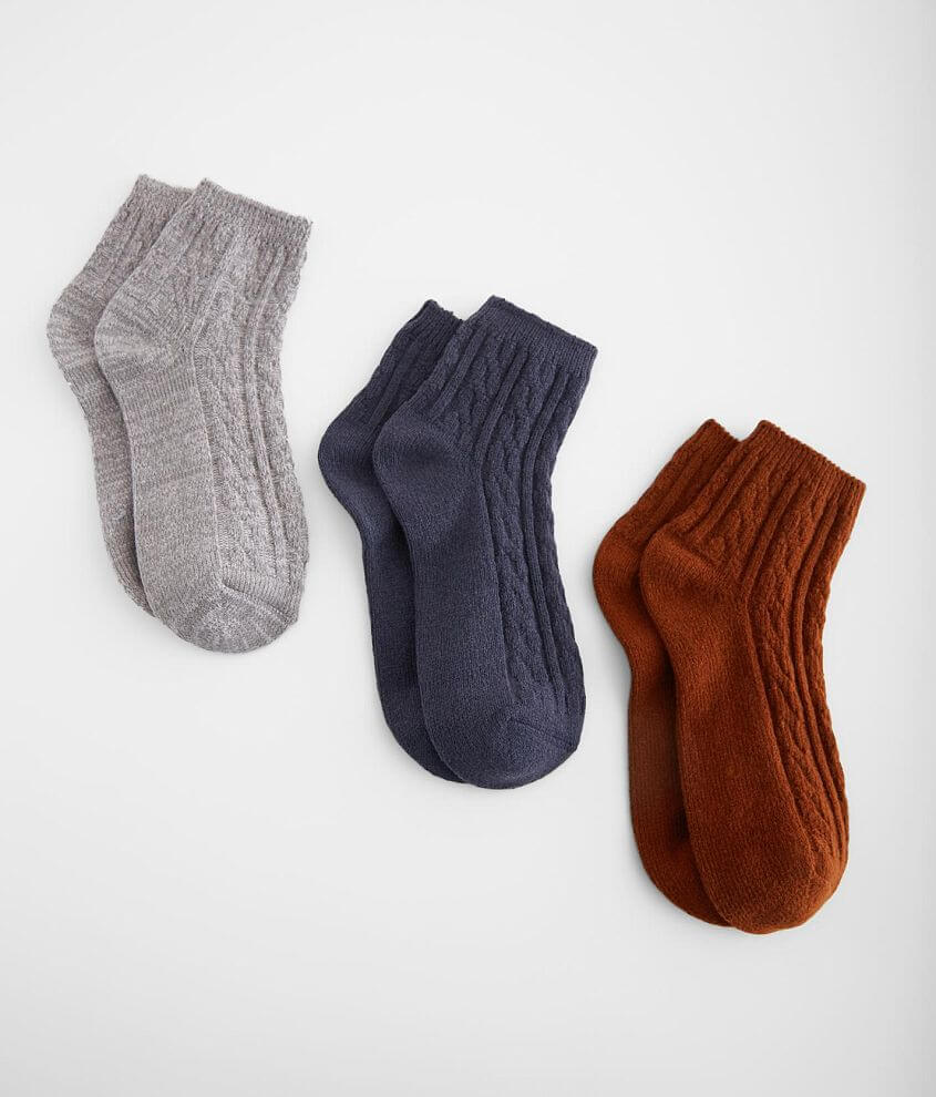 Shop more: Super Soft Textured ankle socks One size fits most