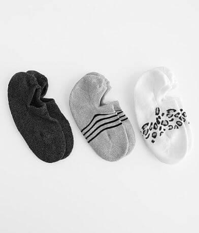 Muk Luks 3 Pack Sport Socks
