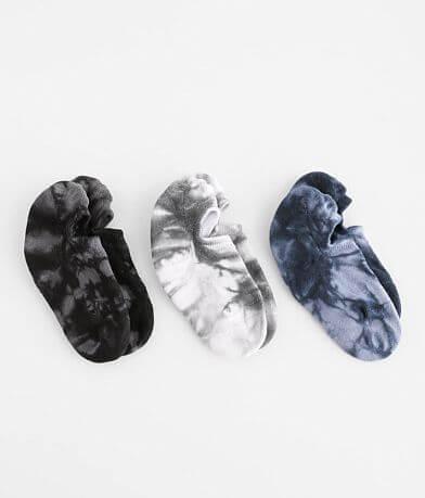 Muk Luks 3 Pack Tie Dye Sport Socks