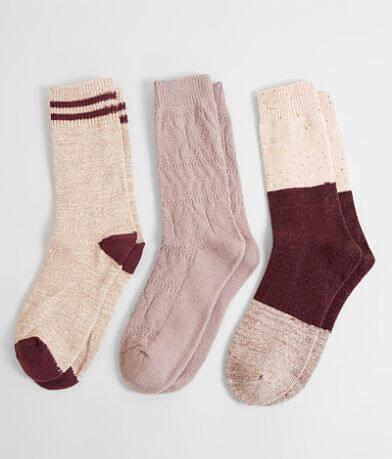 Muk Luks 3 Pack Socks