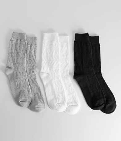 Muk Luks 3 Pack Boot Socks