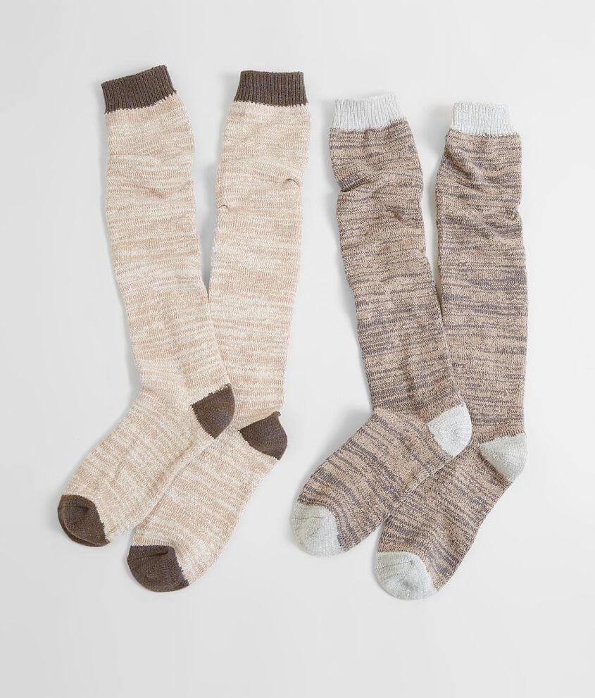 Muk Luks 2 Pack Socks front view