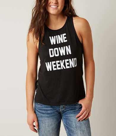 twine & stark Wine Down Weekend Tank Top
