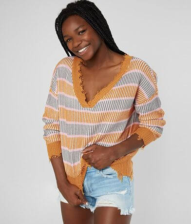 Daytrip Striped Pullover Sweater