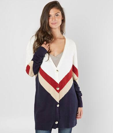 Daytrip Zig Zag Cardigan Sweater