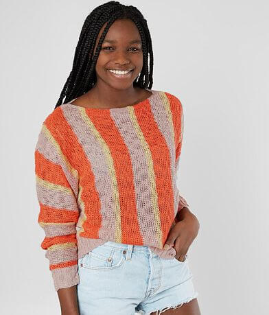 Daytrip Striped Dolman Sweater