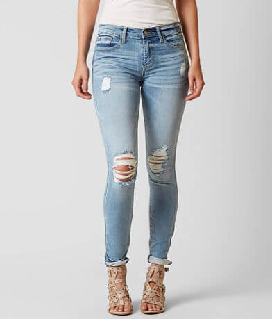 HELLAHECTIK Mid-Rise Skinny Stretch Jean