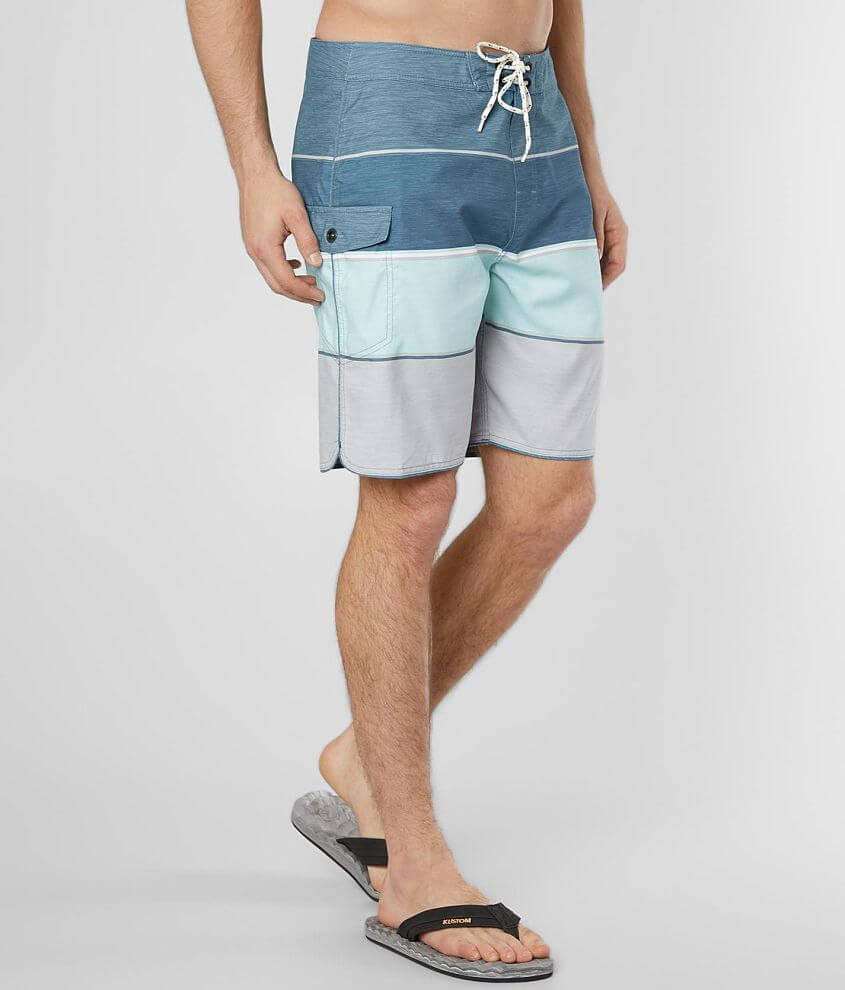 8c28432cbd Rip Curl All Time Striped Stretch Boardshort - Men's Boardshorts in Blue |  Buckle