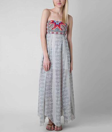 Rip Curl Mi Amour Tube Top Maxi Dress