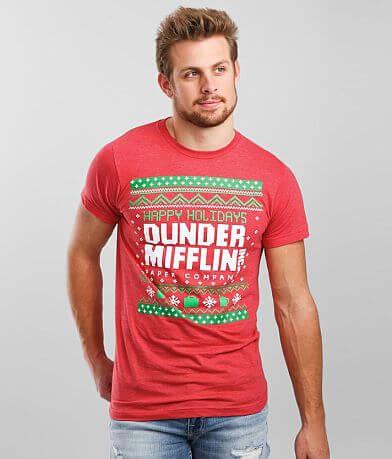 Ripple Junction Dunder Mifflin Holiday T-Shirt