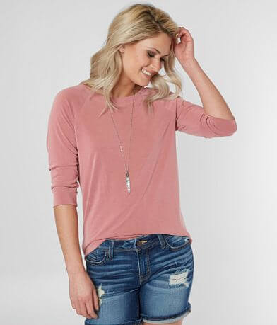 red by BKE Cowl Back Top