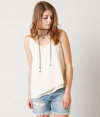 red by BKE Textured Tank Top