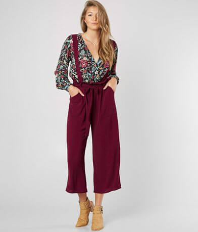 red by BKE Wide Leg Cropped Pant