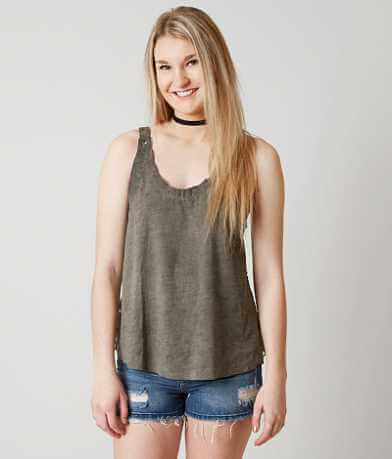 Gilded Intent Open Back Tank Top