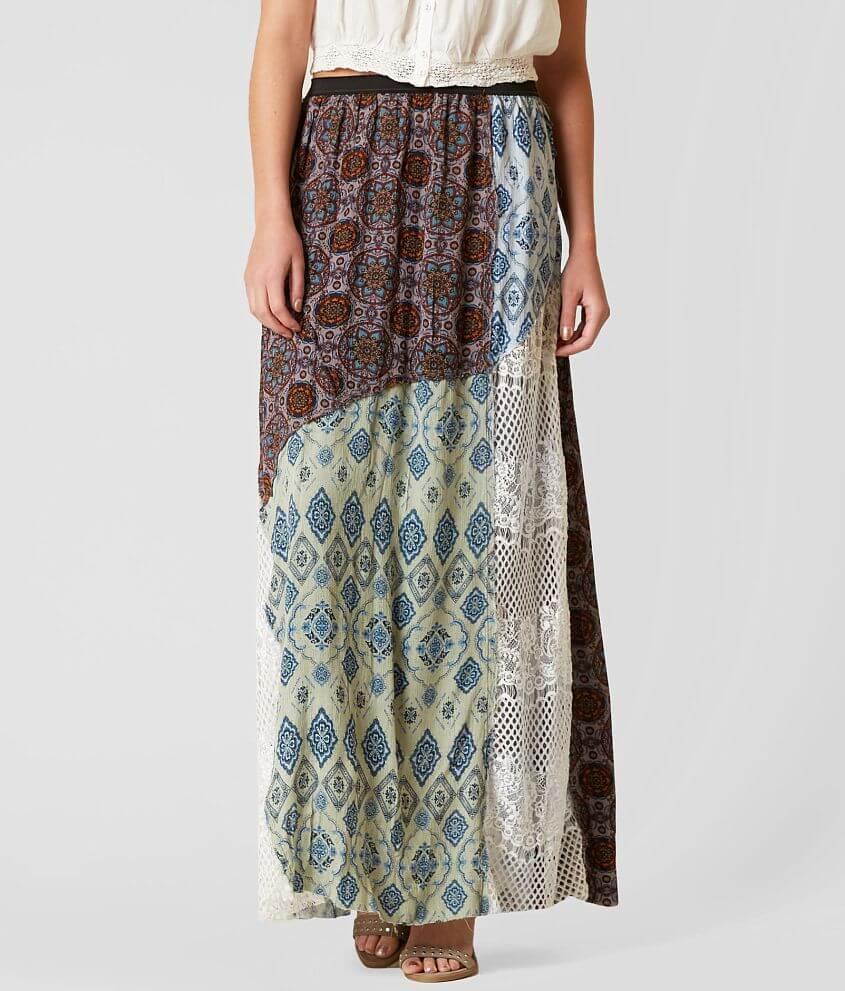 Style GMK14003B/Sku 801652 Printed crinkle and lace 43\\\