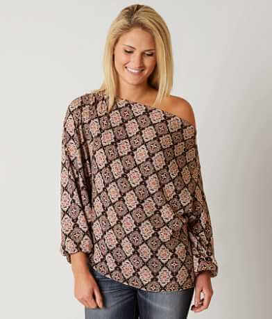 Gimmicks Printed Top