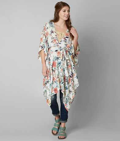 Gimmicks Floral Wrap Cardigan