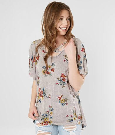 Gimmicks Strappy Floral Top