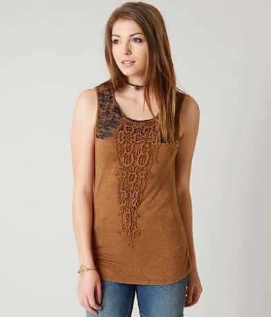 Gimmicks Lace Applique Tank Top