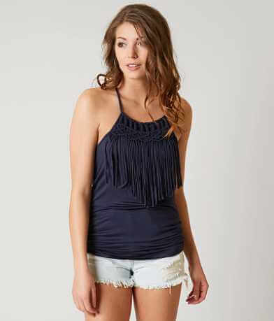 Gimmicks Fringe Tank Top