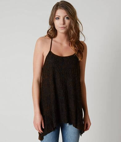 Gimmicks Washed T-Back Tank Top