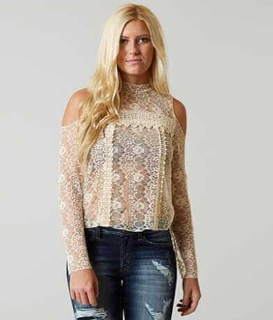 Gimmicks Sheer Lace Top