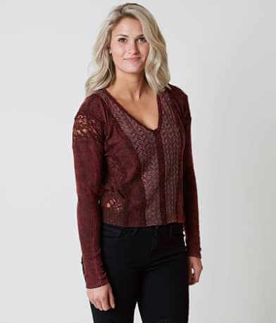 Gimmicks Pieced Lace Top