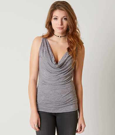 Gimmicks Cowl Neck Tank Top