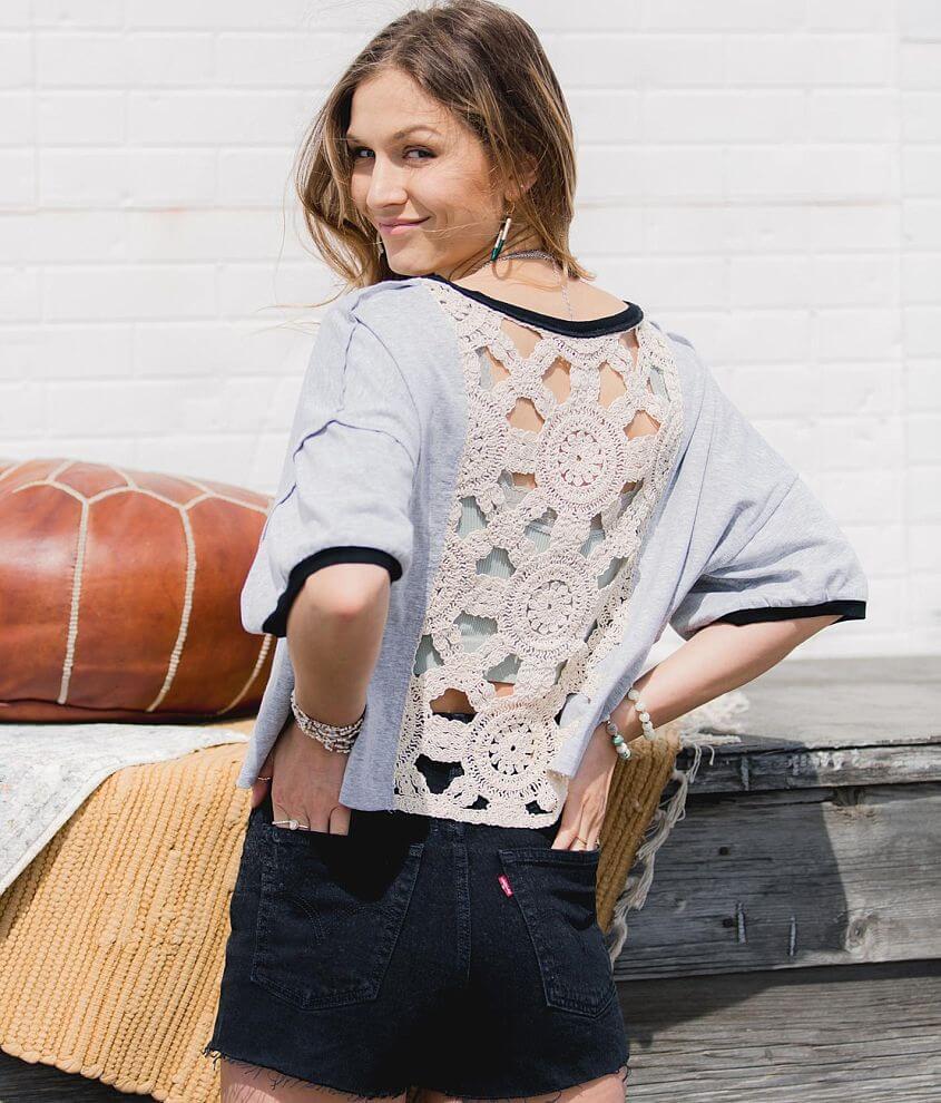 Gimmicks Drop Shoulder Ringer T-Shirt front view