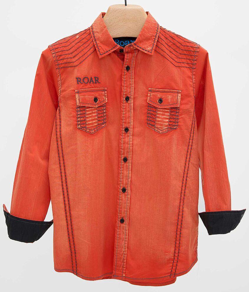 Boys - Roar Sonar Shirt front view