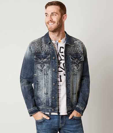 Rock Revival Luciano Denim Stretch Jacket