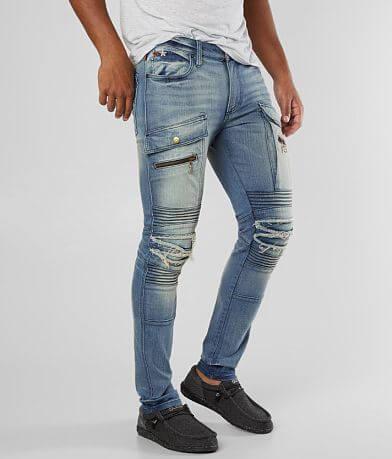 Robin's Jean Moto Slim Stretch Jean