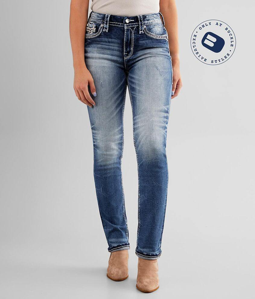 Rock Revival Yandel Easy Straight Stretch Jean front view