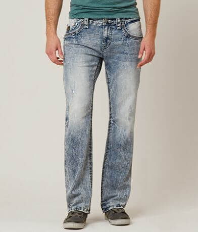 Rock Revival Jamel Slim Straight Stretch Jean
