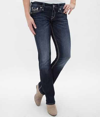 Rock Revival Vivian Easy Straight Stretch Jean