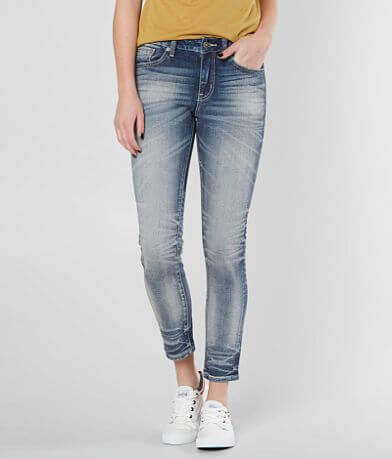 Rock Revival Remix Mid-Rise Ankle Skinny Jean