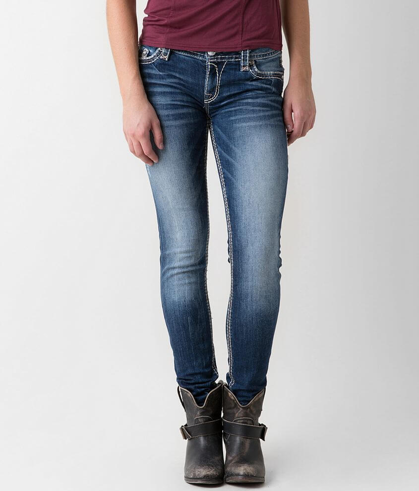 a14de6b77f1 Rock Revival Raven Easy Skinny Stretch Jean - Women s Jeans in Raven ...