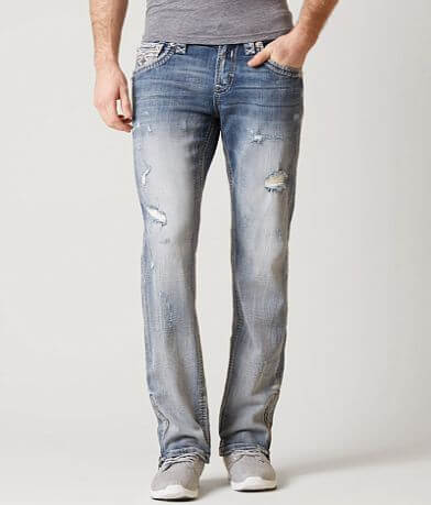 Rock Revival Jerry Slim Straight Stretch Jean