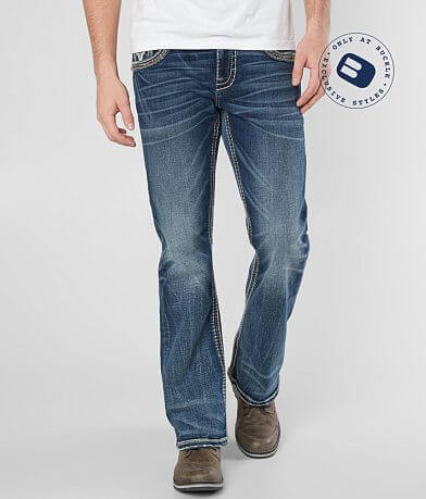 b34d55cdeba48 Rock Revival Creston Slim Boot Stretch Jean