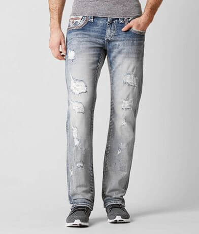 Rock Revival Creston Straight Stretch Jean