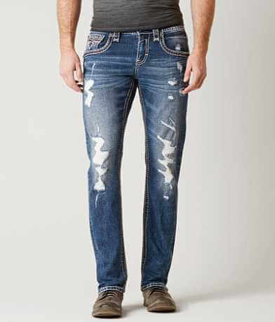 Rock Revival Abijah Slim Straight Stretch Jean