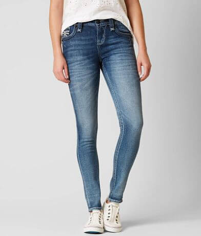 Rock Revival Aala Mid-Rise Skinny Stretch Jean