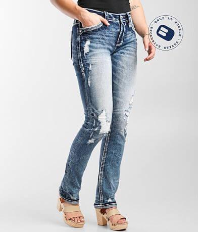 Rock Revival Yui Easy Straight Stretch Jean