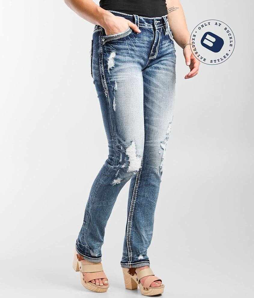 Rock Revival Yui Easy Straight Stretch Jean front view