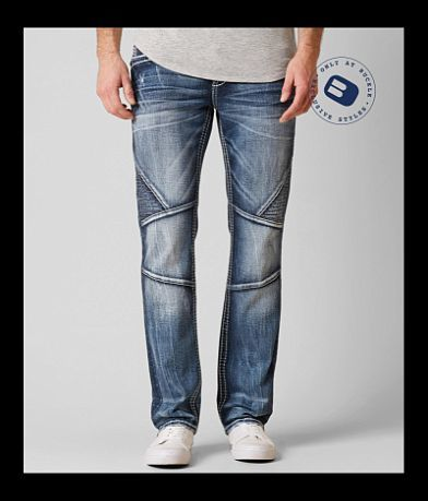 Rock Revival Thorne Biker Slim Straight Jean